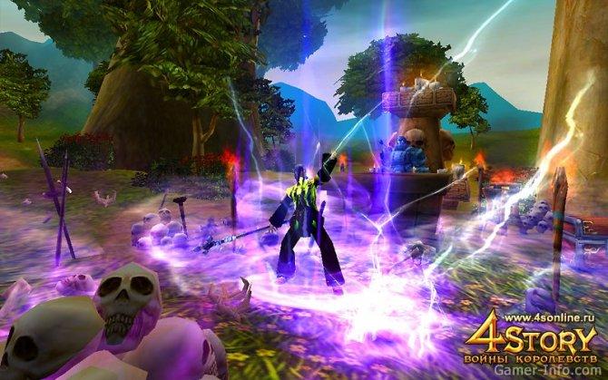Скриншот игры 4Story: Three Kingdoms & One Hero