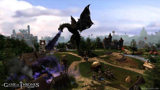 Скриншот игры A Game of Thrones: Genesis