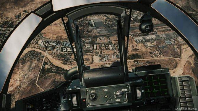 Скриншот игры Ace Combat: Assault Horizon