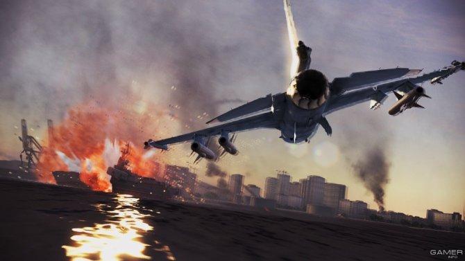 Скриншот игры Ace Combat: Infinity