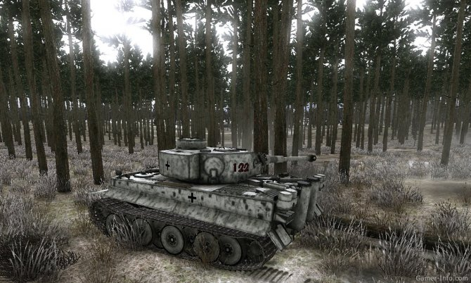 "Скриншот игры Achtung Panzer: Операция ""Звезда"""