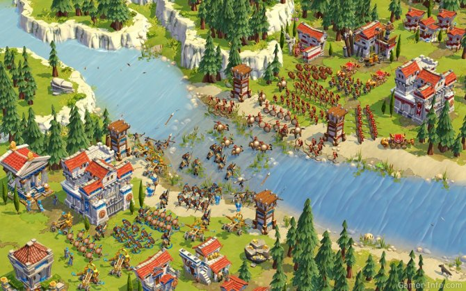 Скриншот игры Age of Empires Online