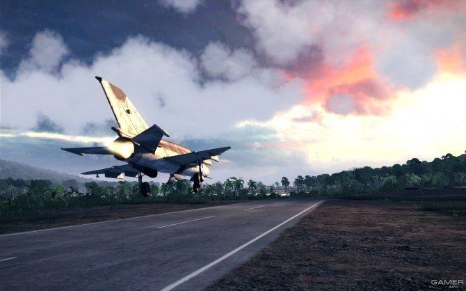 Скриншот игры Air Conflicts: Vietnam
