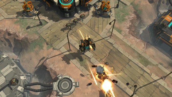 Скриншот игры AirMech Arena