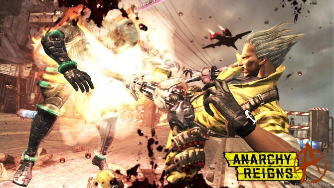 Скриншот игры Anarchy Reigns