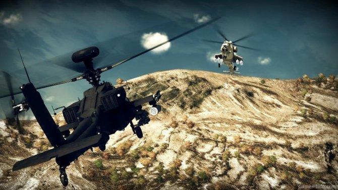 Скриншот игры Apache: Air Assault