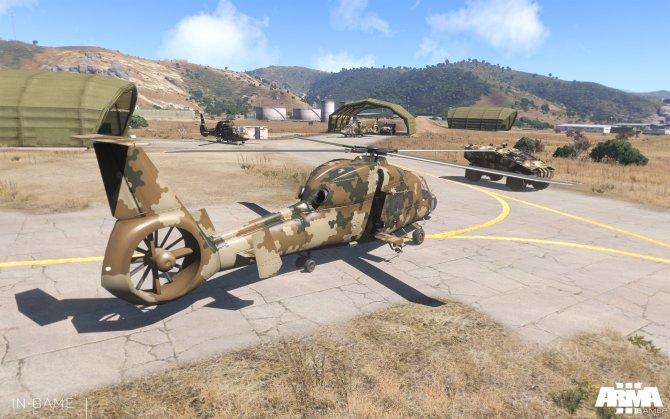 Скриншот игры ArmA 3