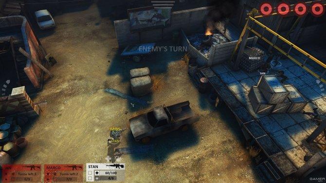 Скриншот игры ArmA Tactics