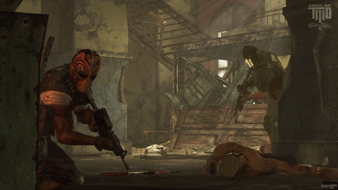 Скриншот игры Army of Two: The Devil's Cartel