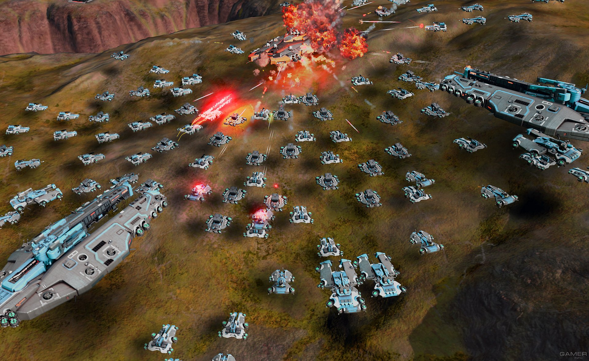 Ashes of the Singularity (2016) PC - Скриншот 3