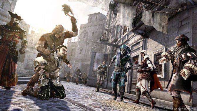 Скриншот игры Assassin's Creed: Brotherhood