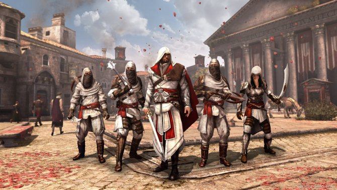 Скриншот игры Assassin's Creed: Brotherhood