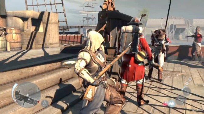 Скриншот игры Assassin's Creed III