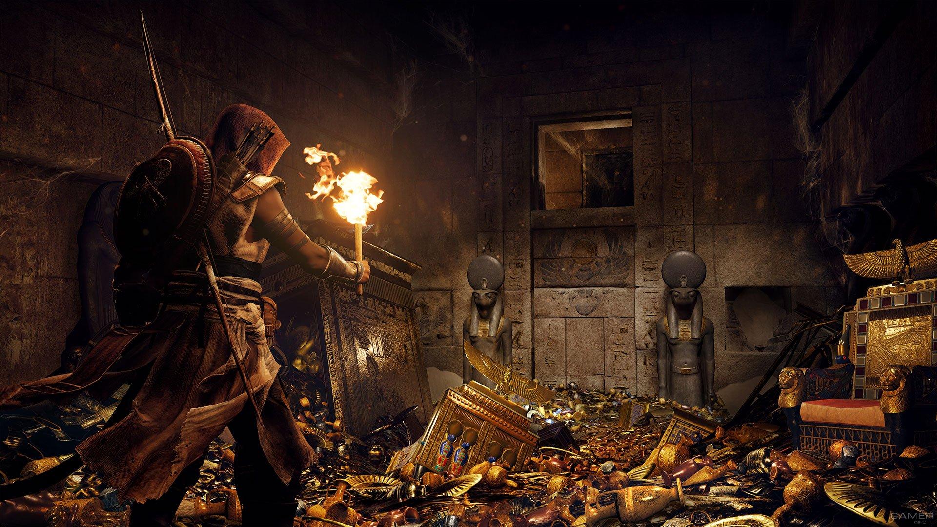 Детали  декабрьского бесплатного DLC для Assassin's Creed Origins