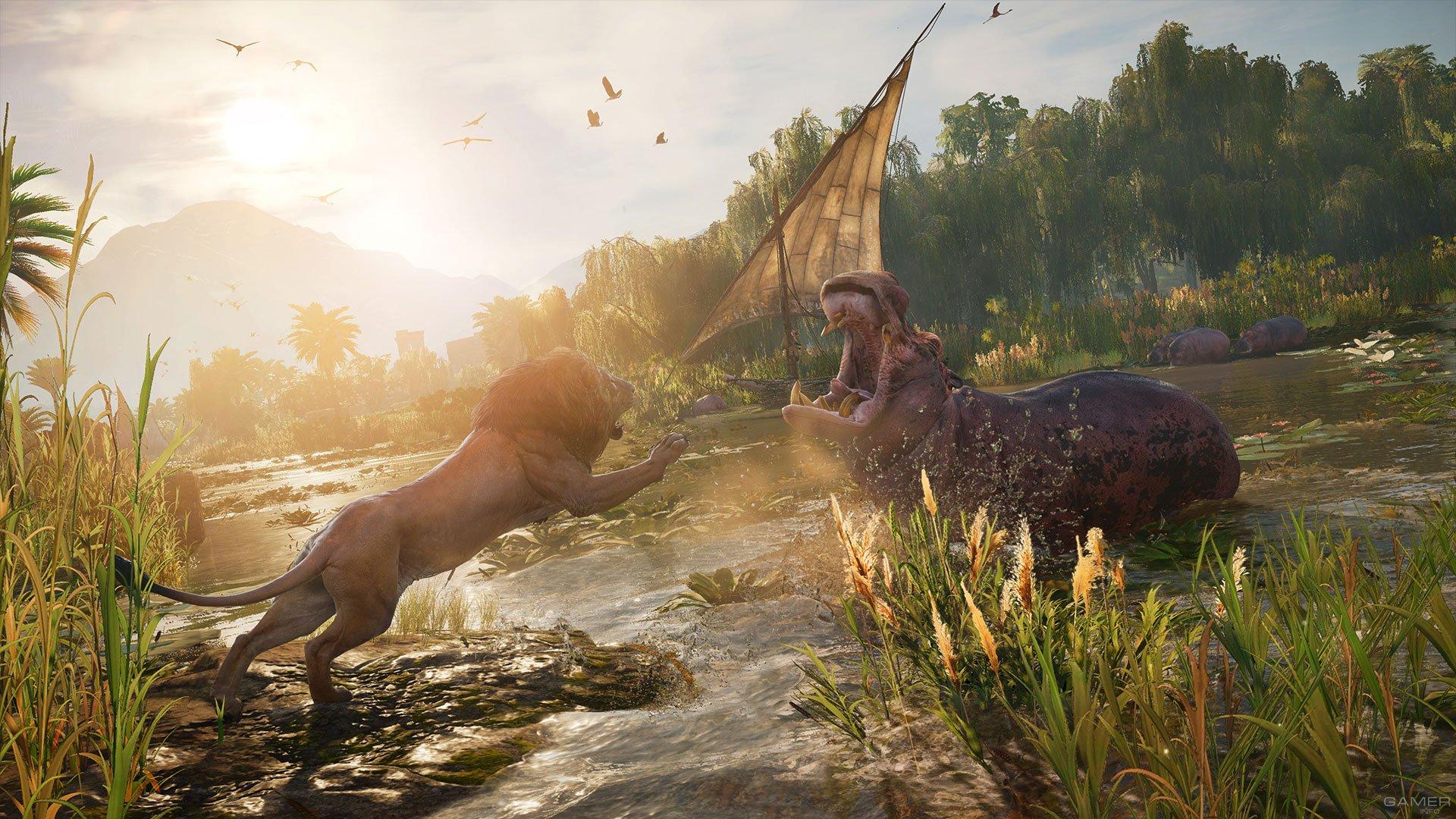 Создатели сказали обесплатном DLC для Assassin's Creed: Origins