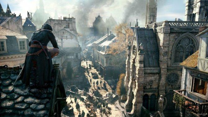 Скриншот игры Assassin's Creed Unity