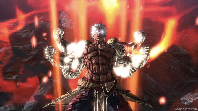 Скриншот игры Asura's Wrath