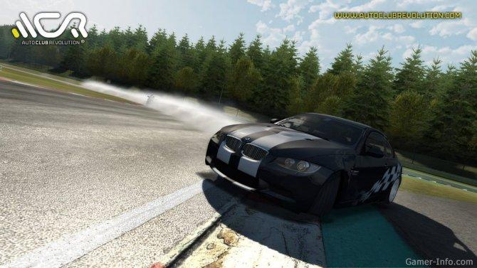 Скриншот игры Auto Club Revolution