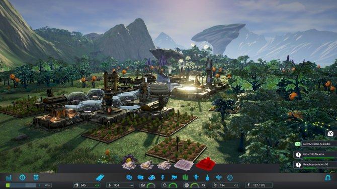 Скриншот игры Aven Colony