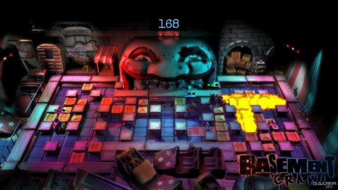 Скриншот игры Basement Crawl
