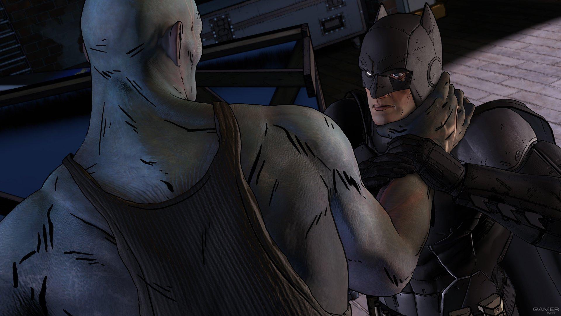 Скриншоты второго эпизода Batman - The Telltale Series