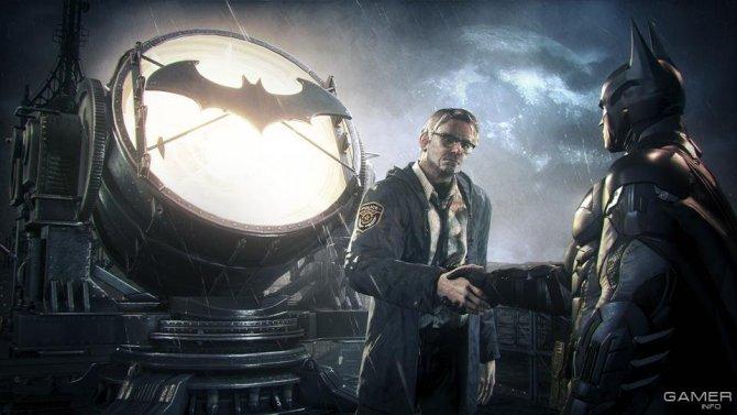 Скриншот игры Batman: Arkham Knight