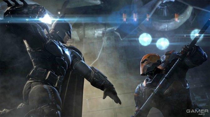 Скриншот игры Batman: Arkham Origins