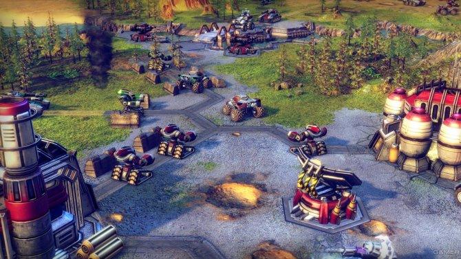 Скриншот игры Battle Worlds: Kronos