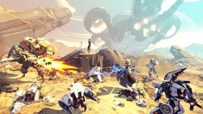 Скриншот игры Battleborn