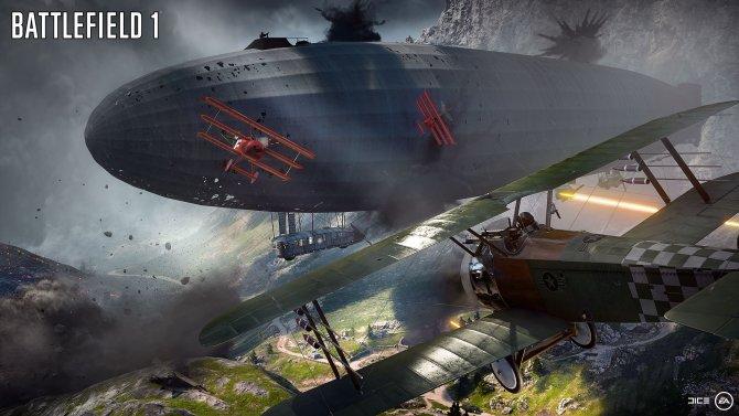 Скриншот игры Battlefield 1
