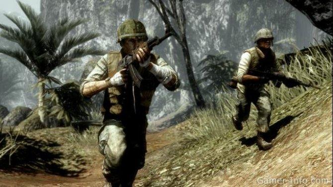 Скриншот игры Battlefield: Bad Company 2