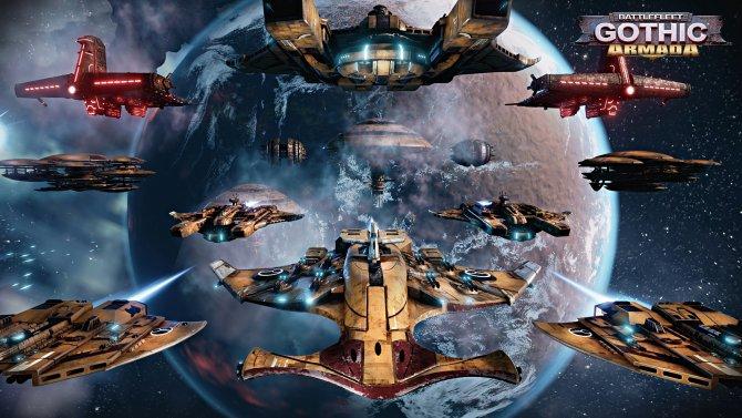 Скриншот игры Battlefleet Gothic: Armada