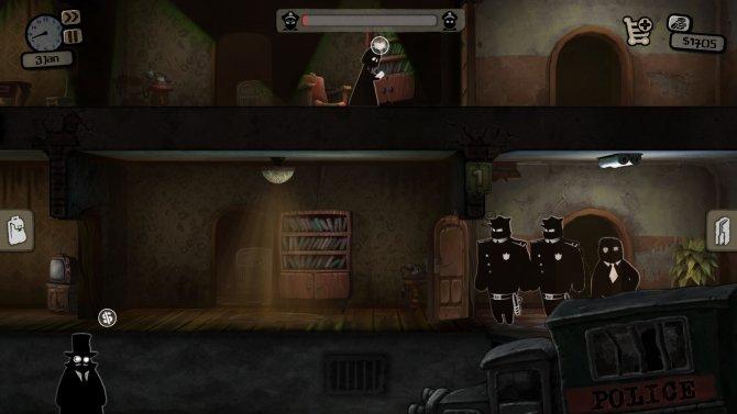 Скриншот игры Beholder