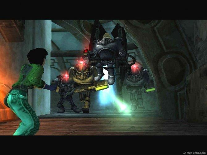 Скриншот игры Beyond Good & Evil