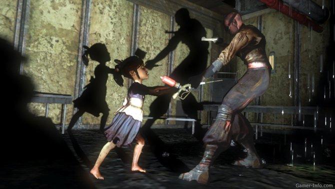 Скриншот игры BioShock 2