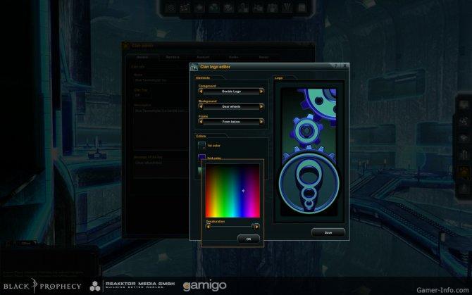 Скриншот игры Black Prophecy