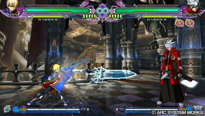 Скриншот игры BlazBlue: Continuum Shift Extend