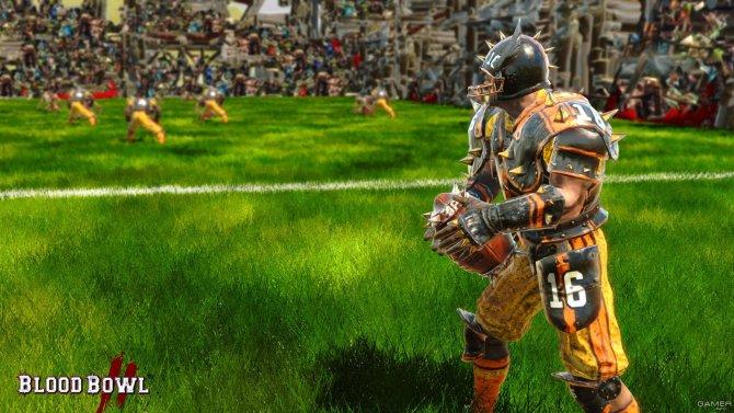 Скриншот игры Blood Bowl 2
