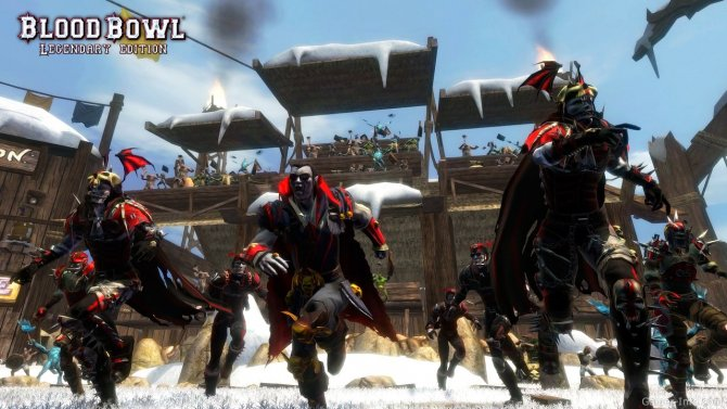Скриншот игры Blood Bowl: Legendary Edition