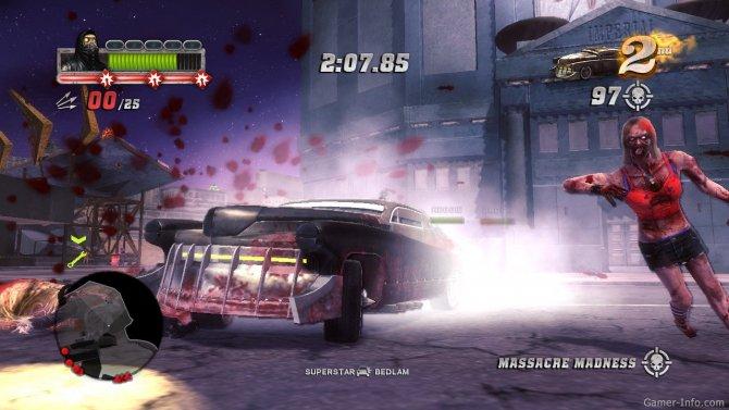 Скриншот игры Blood Drive