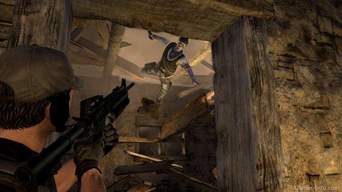 Скриншот игры Breach