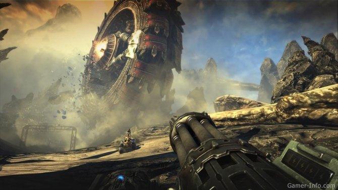 Скриншот игры Bulletstorm