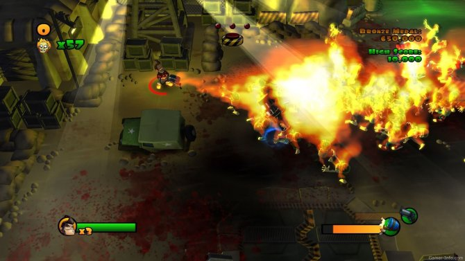 Скриншот игры Burn, Zombie, Burn!