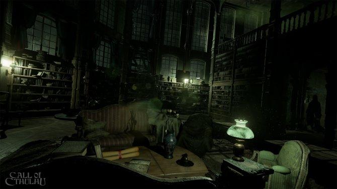 Скриншот игры Call of Cthulhu