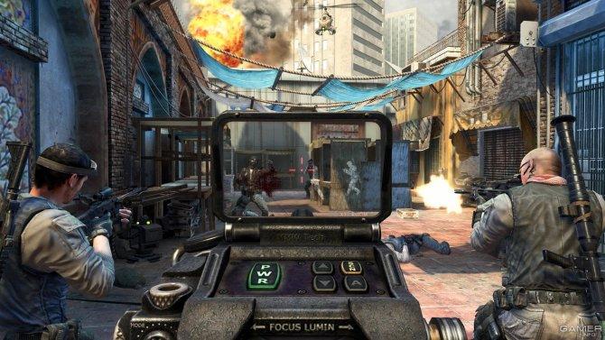 Скриншот игры Call of Duty: Black Ops II
