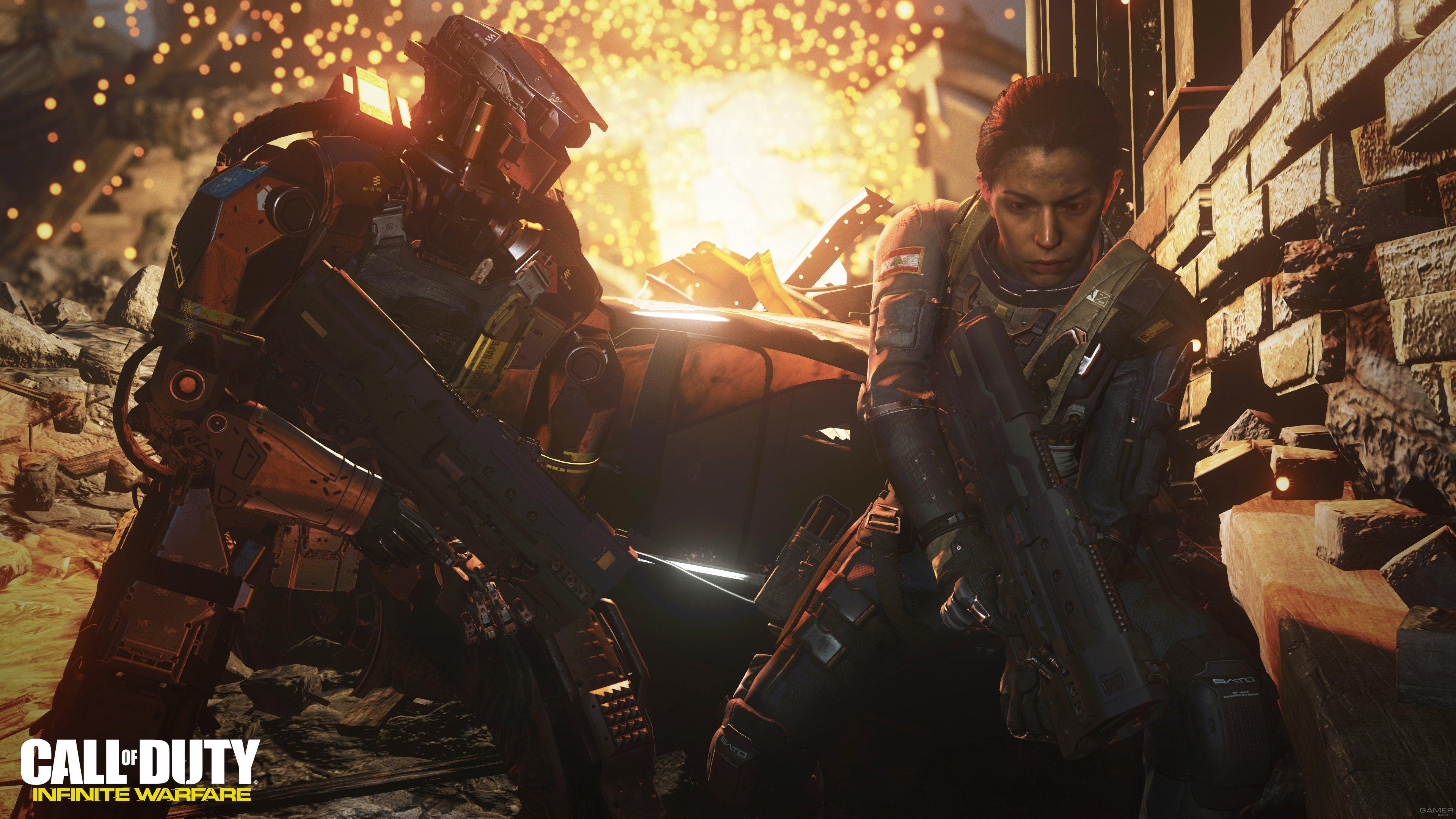 Оценки Call of Duty: Infinite Warfare