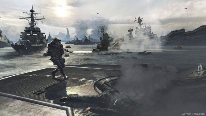 Скриншот игры Call of Duty: Modern Warfare 3