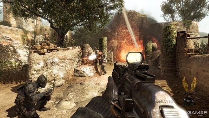 Скриншот игры Call of Duty: Modern Warfare 3