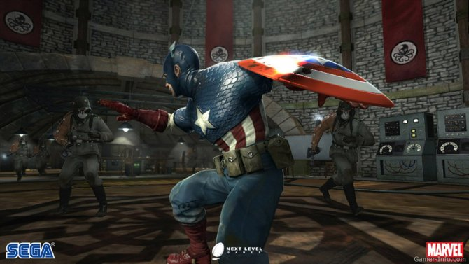 Скриншот игры Captain America: Super Soldier