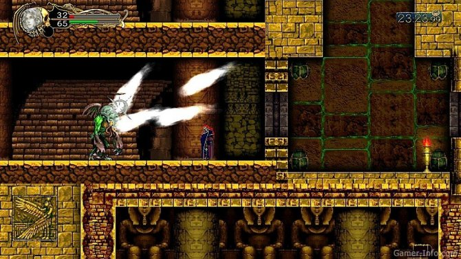 Скриншот игры Castlevania: Harmony of Despair